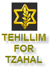 Tehillim for Tzahal